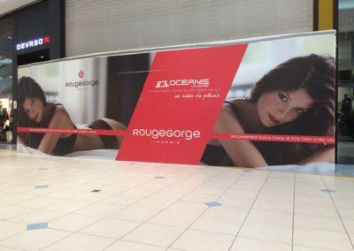 images et solutions - Habillage façade magasin
