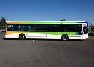 images et solutions - marquage sur bus
