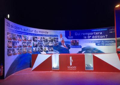 Images & Solutions - Toile tendue sur profilés - Vendée Globe